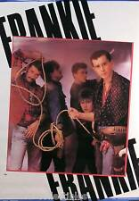 Frankie Goes To Hollywood 1984 Original Uk Store Promo Poster