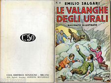 rare books emilio salgari racconti illustrati # 21 avventure first edition 1935
