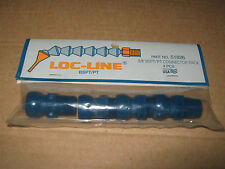 "LOC-LINE 3/8"" BSPT CONNECTOR PACK OF 4 COOLANT HOSE 51826 FOR LATHE OR MILL"