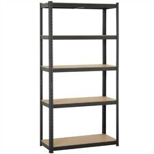 "Heavy Duty 71""H Shelf Garage Steel Metal Storage 5 Level Adjustable Shelves Rack"