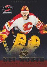 1997-98 Score Hockey Net Worth #3 Trevor Kidd Carolina Hurricanes