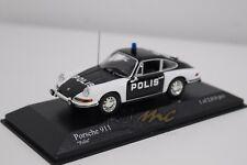 "MINICHAMPS 430067190 Porsche 911 1970 ""Polis"" 1/43 #NEW"