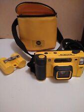 MINOLTA Film Camera WEATHERMATIC DUAL 35 with Carrying case Film Case