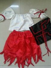 Pirate halloween costume for girls