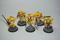 Warhammer 40k Space Marine Assault Squad x 5 - Imperial Fists 490