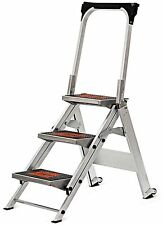 Little Giant Ladder Systems 10310BA 3-Feet Safety Aluminum Step with Bar 300lbs Load Capacity