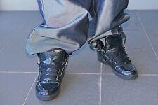 ☆—Used—Osiris Bronx—Shiny—Black—Glanz—Sneakers—Shoes—Size US 11.5—Skater—☆