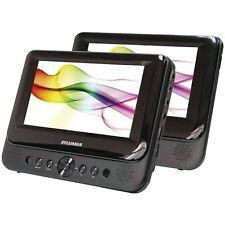 "Sylvania SDVD8739 7"" Dual Screen Portable DVD Media Player - Recertified"