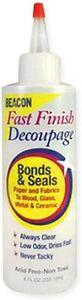 Beacon Adhesives - Fast Finish Decoupage Craft Glue - 237ml Bottle