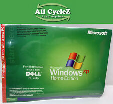 Microsoft windows XP Home Edition Operating System CD-ROM 2002 Version! No Key!