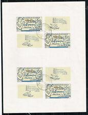 Czech Pidgeon Mail Souvenir Sheet 1977