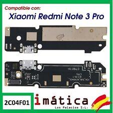PLACA DE CARGA XIAOMI REDMI NOTE 3 PRO CONECTOR MICRO USB ANTENA MICROFONO BOARD