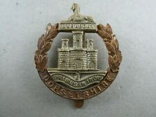 Military Cap Badge Dorsetshire Regiment British Army Bi-Metal Infantry