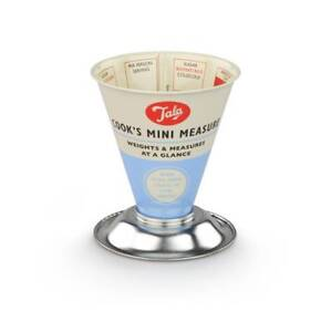 Tala Mini Cooks Dry Measure ingredients Food Cooking Measuring Cup Retro Blue