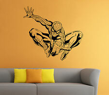 Spider Man Wall Decal Comics Super Hero Vinyl Sticker Home Wall Decor (007sm)