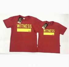 WITNESS FATHER & SON SHIRT S-L (EO) - RED (MEDIUM Adult Size)