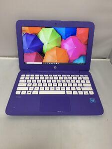 "HP STREAM 14"" NETBOOK LAPTOP-INTEL N3060 @ 1.6GHZ-8GB RAM-28.5GB EMMC - 112455"