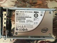 """DELL 7C7FK 07C7FK 400GB SSD 2.5"""" SATA Intel SSD DC S3710 SSDSC2BA400G4R"""