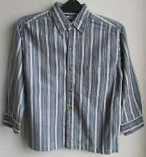 New  Shirt by designer Speed of Light blue stripe    100% cotton  6 year