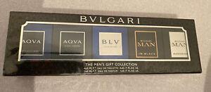 Bulgari Pour Homme Gift Set Edt Men's Gift Collection Mini Perfume Men Bvlgari