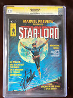 MARVEL PREVIEW #4 // 1st App STAR-LORD // CGC 8.5 // Stan Lee Signed