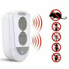 Smart Ultrasonic Pest Repeller for Rodents, Mice. Rats, Insects, Spiders