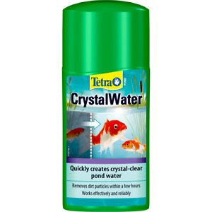 Tetra Pond Crystal Water Effectively Clears Dirty Cloudy Pond Water 250ml 500ml