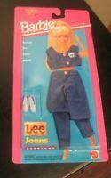 Vintage Barbie doll 1995 Lee Jeans outfit mattel walt disney fashions