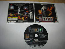 3D Mission Shooting Finalist Playstation PS1 Japan import