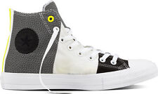 Converse Chuck Taylor All Star UK Size 8 Men's Trainers Shoes Hi Top White Black