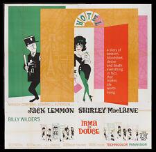 IRMA LA DOUCE JACK LEMMON SHIRLEY MACLAINE 1963 SIX-SHEET BILLBOARD