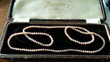 "Pretty Vintage Pearls. 30"". Good condition"