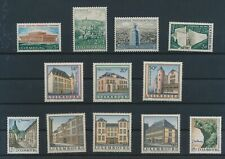 LM91356 Luxembourg monuments landmarks fine lot MNH