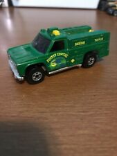 Vintage Hot Wheels 1974 Forest Service Ranger Truck Green W Yellow Lettering