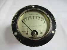 Vintage Weston Panel Meter Ac Volts 0 10 Model 476