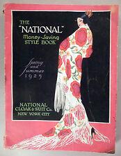 National Cloak CATALOG - Spring/Summer, 1925 ~~ large 344 pages, fashion