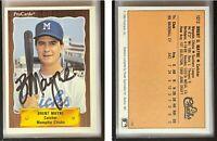 Brent Mayne Signed 1990 CMC #780 Card Memphis Chicks Auto Autograph