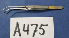Wlorenz 01 0582 Surgical Dental Tweezer 6 With Lock Carbide Tip