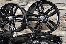 19 Zoll Alufelgen RS3 für VW Tiguan 2 AD1 5N R-Line Schwarz 5x112 Alufelgen 57,1