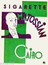 E.Carboni-MATOSSIAN-fumo-sigarette-futurismo-Egitto Cairo 1930- in vari colori