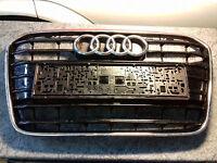 Original Audi A6 4G C7 Kühlergrill Frontgrill Chrom schwarz Clavierlack Grille