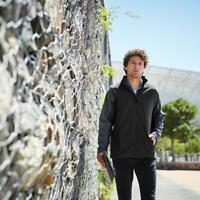Regatta Uproar Mens Interactive Softshell Jacket Quick Dry Water Repellent Coat