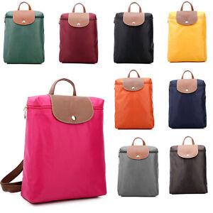 Womens Small Backpack Nylon Waterproof Rucksack Ladies Shoulder Bag Lightweight