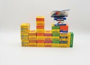 Vintage Kodak Camera Film Lot Of 18 - EXPIRED