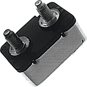 Standard Motor Products 15 Amp 2 Stud 12 Volt Circuit Breaker for Harley