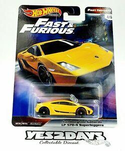 Hot Wheels  Fast & Furious Fast Imports Lamborghini Gallardo LP 570-4 Superlegge