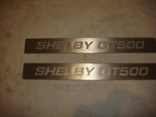 Mustang Ford Shelby GT500 Door Sill Plates