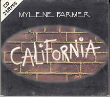 "CD SP DIGIPACK MYLENE FARMER ""CALIFORNIA"""