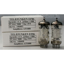 EF86 TELEFUNKEN <> match pair made in Germany, Amplitrex tested #1458020&21
