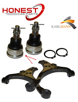 For HONDA CIVIC 2001-2006 FRONT LOWER SUSPENSION WISHBONE ARMS PAIR & BALLJOINTS